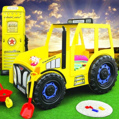 Traktor Yellow 2